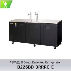 부성 맥주냉장고 Direct DrawKeg Refrigerator B226BD-3RRRC-E